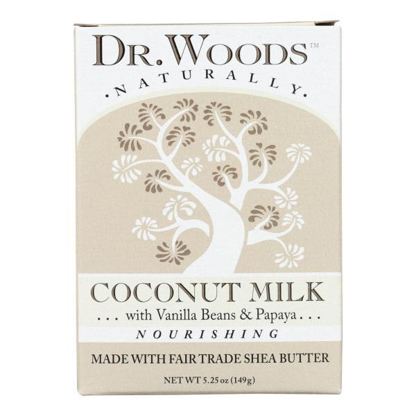 Dr. Woods Bar Soap Coconut Milk - 5.25 oz %count(alt)