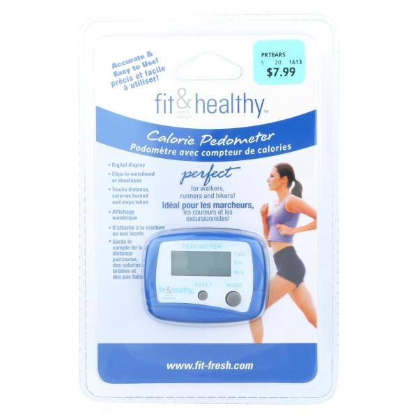 Fit and Fresh Calorie Pedometer %count(alt)