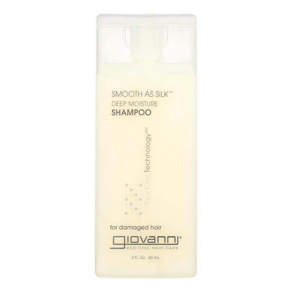 Giovanni Smooth As Silk Deep Moisture Shampoo - 2 fl oz - Case of 12 %count(alt)