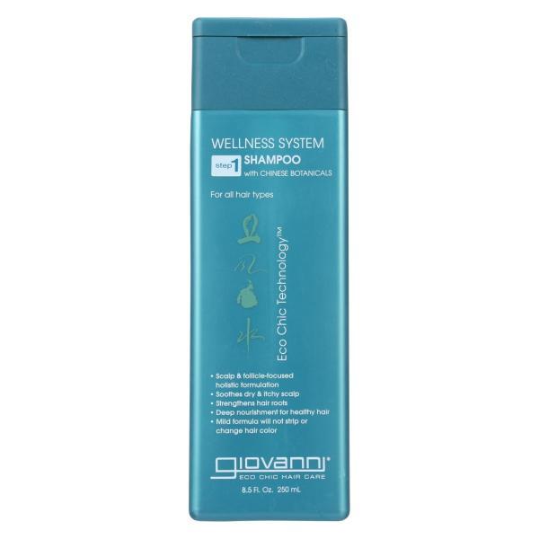 Giovanni Wellness System Step 1 Shampoo with Chinese Botanicals - 8.5 fl oz %count(alt)