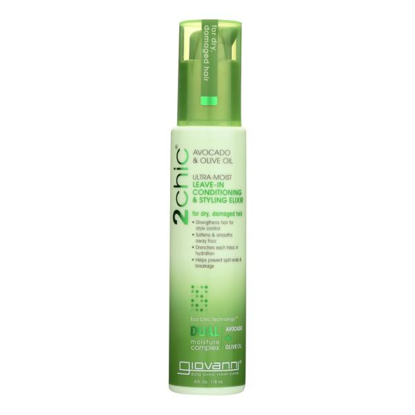 Giovanni Hair Care Products Leave in Conditioner - 2Chic Avocado - 4 oz %count(alt)