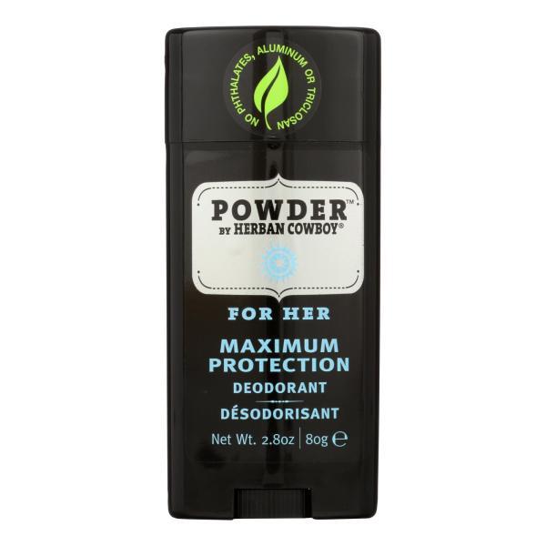 Herban Cowboy Deodorant Powder Scent - 2.8 oz %count(alt)