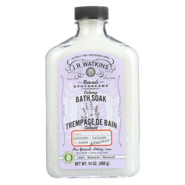 J.R. Watkins Bath Soak Calming Lavender - 14 fl oz %count(alt)