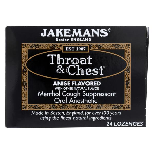 Jakemans Throat and Chest Lozenges - Anise - 24 Pack %count(alt)