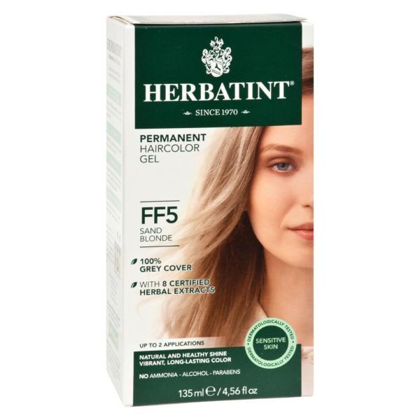 Herbatint Permanent Herbal Haircolour Gel FF5 Sand Blonde - 1 Kit %count(alt)