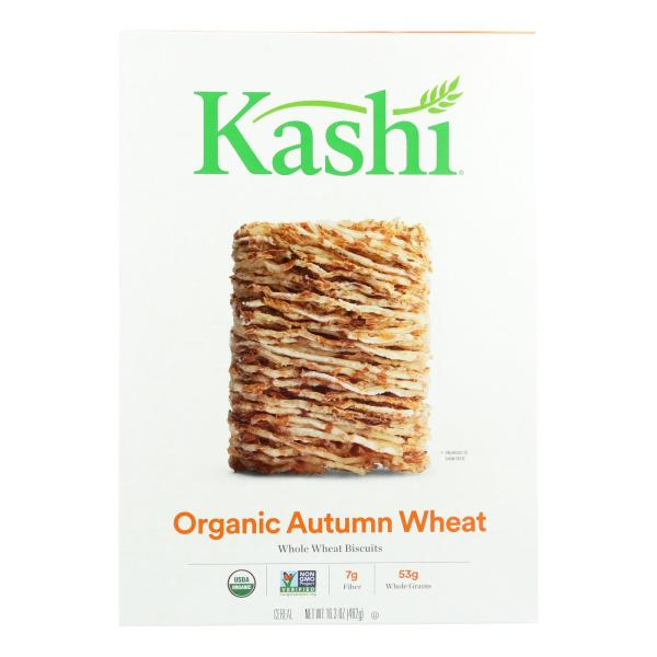 Kashi Cereal - Organic - Whole Wheat - Organic Promise - Autumn Wheat - 16.3 oz - case of 12 %count(alt)