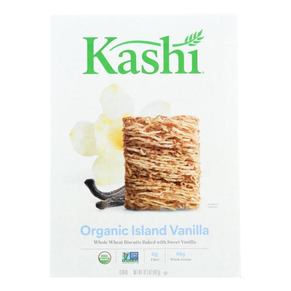Kashi Cereal - Organic - Whole Wheat - Organic Promise - Island Vanilla - 16.3 oz - case of 12 %count(alt)