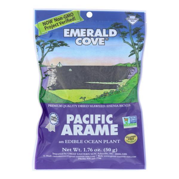 Emerald Cove Pacific Arame - Sea Vegetables - Silver Grade - 1.76 oz - Case of 6 %count(alt)