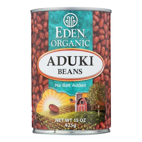 Eden Foods Organic Aduki Beans - Case of 12 - 15 oz. %count(alt)