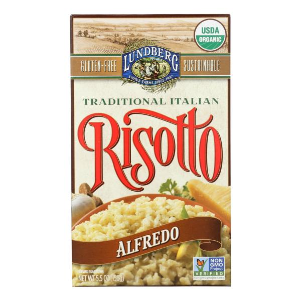 Lundberg Family Farms Risotto Alfredo - Parmesan Cheese - Case of 6 - 5.5 oz. %count(alt)