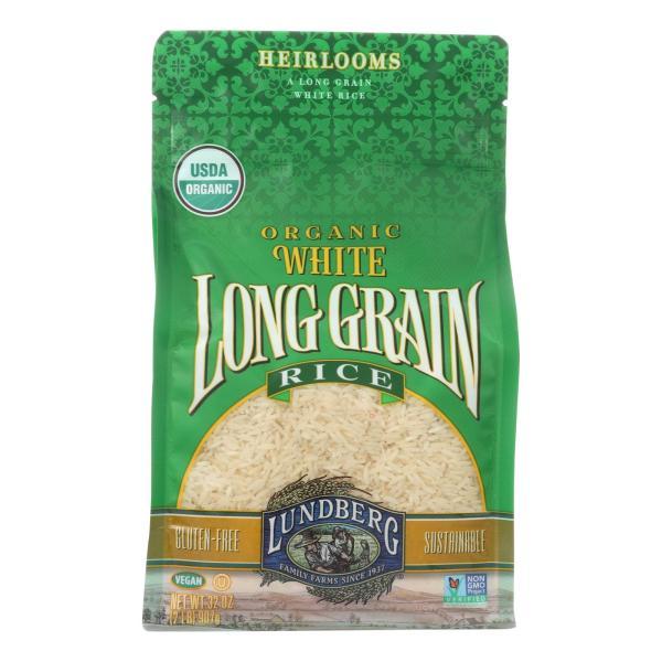 Lundberg Family Farms Organic White Organic Long Grain Rice - Case of 6 - 2 lb. %count(alt)