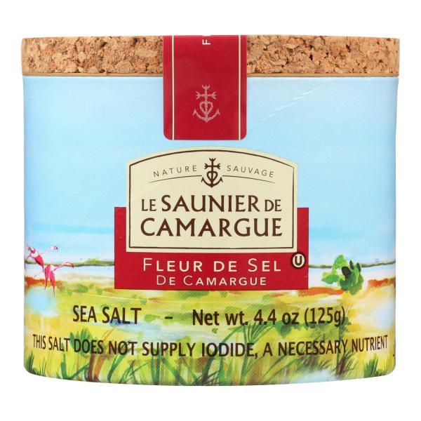Le Saunier De Camargue French Sea Salt - Fleur De Sel - Case of 6 - 125 Gram %count(alt)