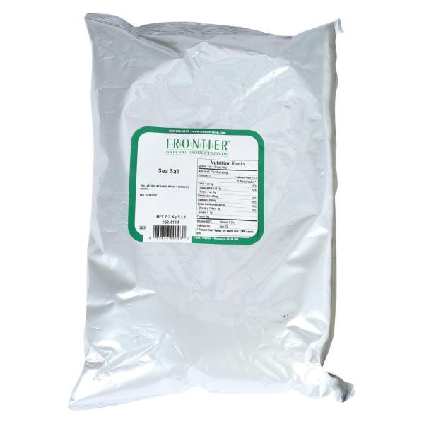 Frontier Herb Sea Salt - Table Grind - Bulk - 5 lbs %count(alt)