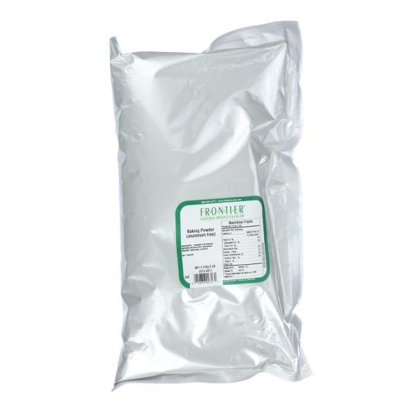 Frontier Herb Baking Powder - Aluminum Free - Bulk - 5 lb %count(alt)