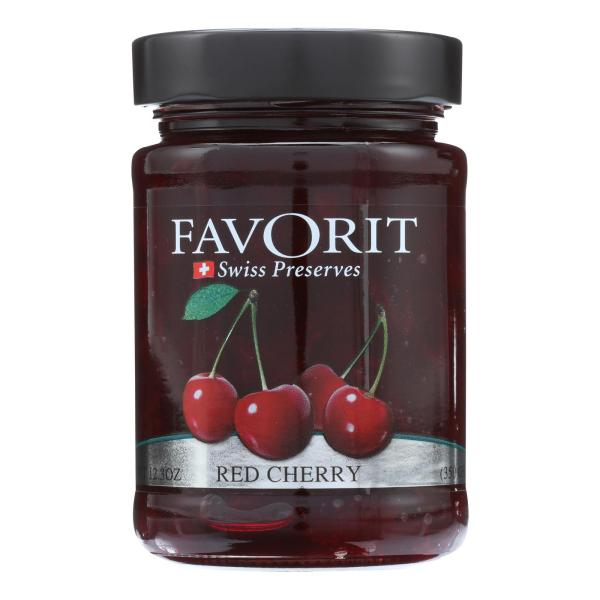 Favorit Preserves - Swiss - Red Cherry - 12.3 oz - case of 6 %count(alt)