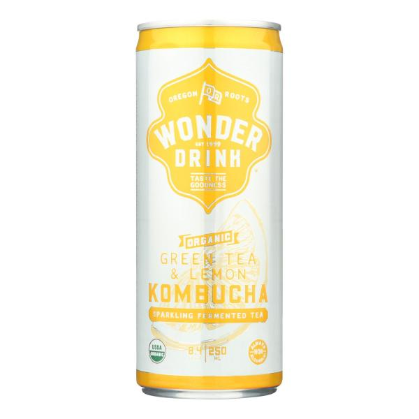 Kombucha Wonder Drink Wonder Drink - Case of 24 - 8.4 Fl oz. %count(alt)