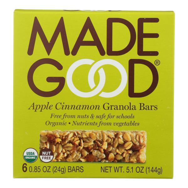 Made Good Granola Bar - Apple Cinnamon - Case of 6 - 5 oz. %count(alt)