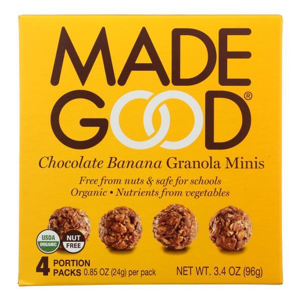 Made Good Granola Minis - Chocolate Banana - Case of 6 - 3.4 oz. %count(alt)