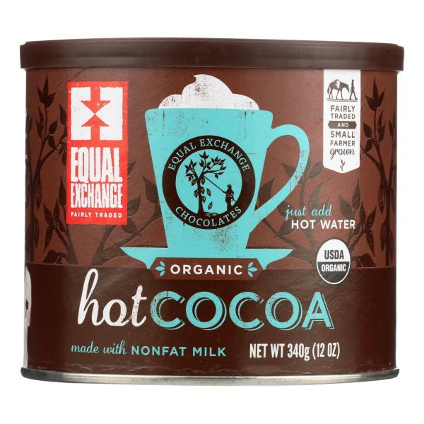 Equal Exchange Organic Hot Cocoa - Case of 6 - 12 oz. %count(alt)