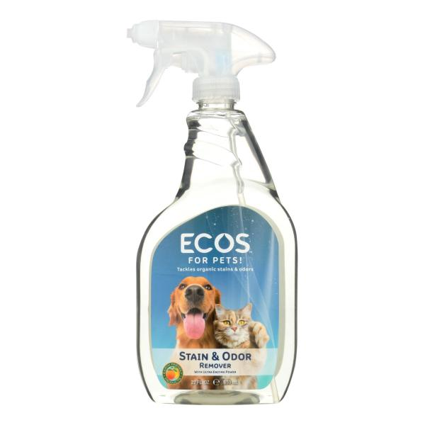 Ecos For Pets Stain And Odor Remover - Case of 6 - 22 OZ %count(alt)