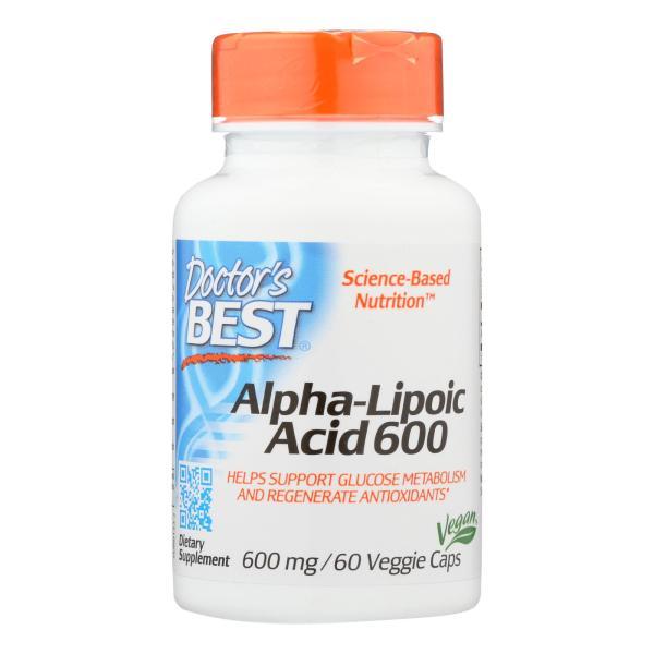 Doctor's Best - Alpha Lipoic Acid - 1 Each-60 VCAP %count(alt)