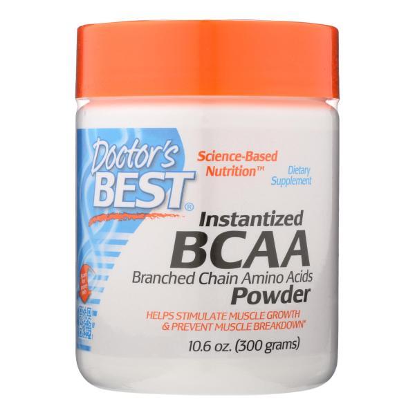 Doctor's Best - Bcaa Powder Instantized - 1 Each-300 GRM %count(alt)