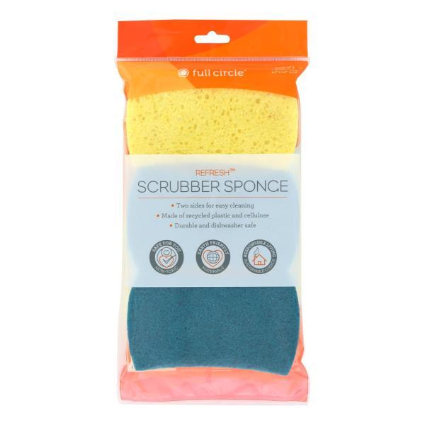 Full Circle Home - Sponge Scrub Refresh 2in1 - Case of 6 - 3 CT %count(alt)
