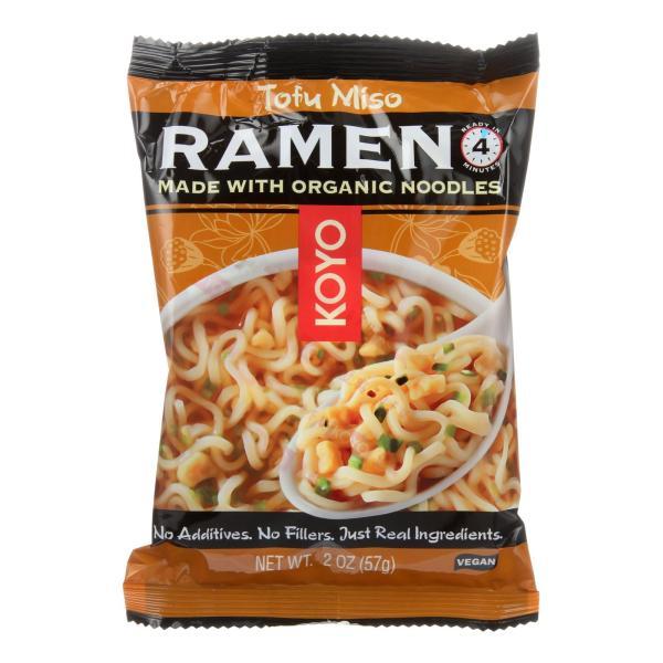Koyo Ramen - Tofu Miso - Case of 12 - 2 oz. %count(alt)