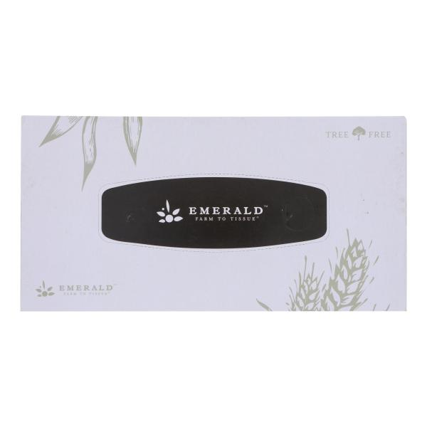 Emerald Brand - Facial Tissue 2 Ply Fltbx - CS of 30-1 CT %count(alt)