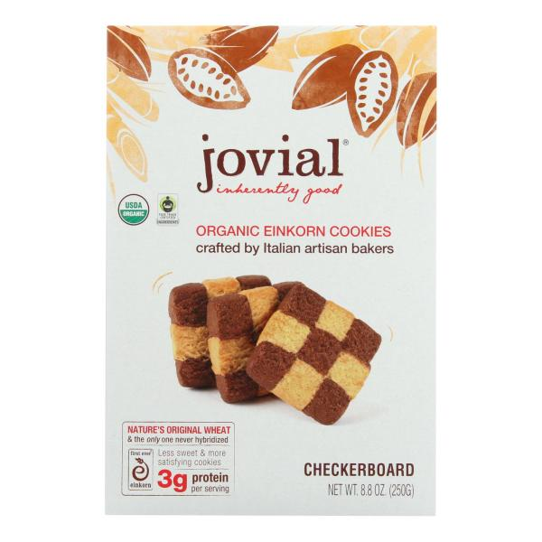 Jovial - Cookie - Organic - Einkron - Checkerboard - 8.8 oz - case of 12 %count(alt)