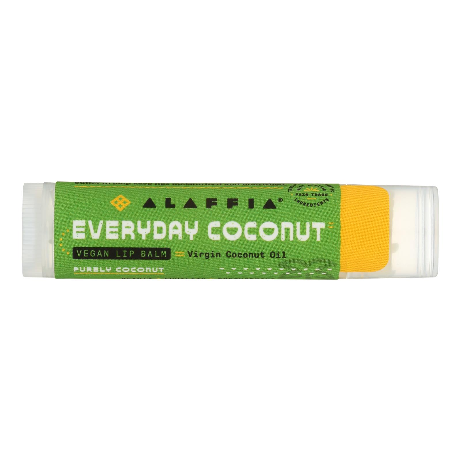 Everyday Coconut Purely Coconut Lip Balm - Case of 24 - .15 OZ %count(alt)