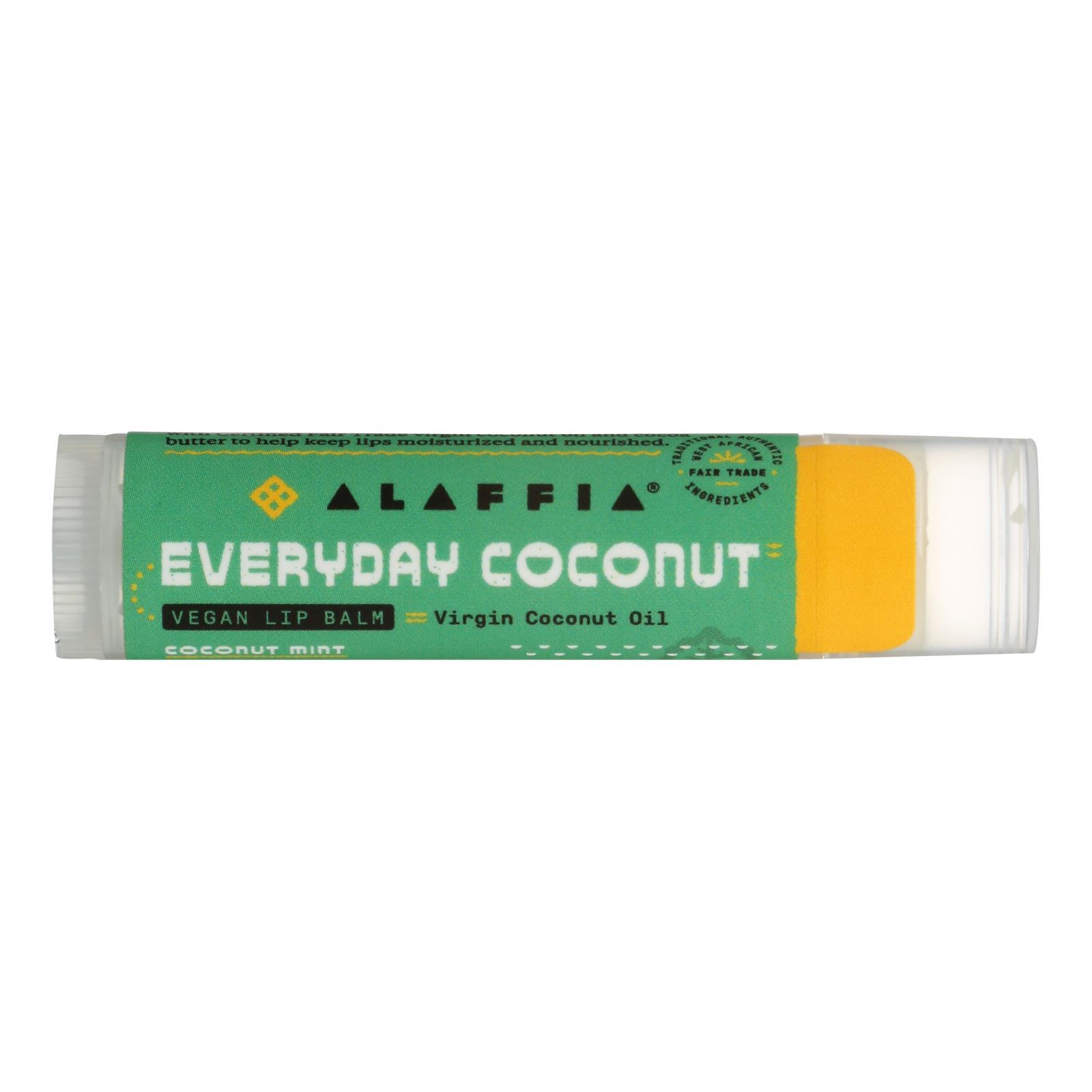 Everyday Coconut's Coconut Mint Lip Balm - Case of 24 - .15 OZ %count(alt)