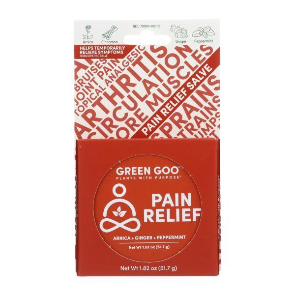 Green Goo Good Goo - Pain Relief Large Tin - Case of 6-1.82 OZ %count(alt)