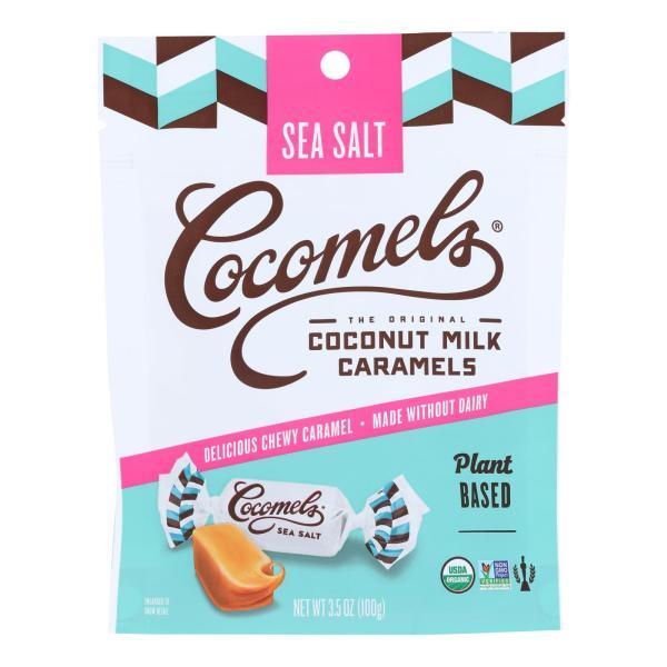 Cocomel - Organic Coconut Milk Caramels - Sea Salt - Case of 6 - 3.5 oz. %count(alt)
