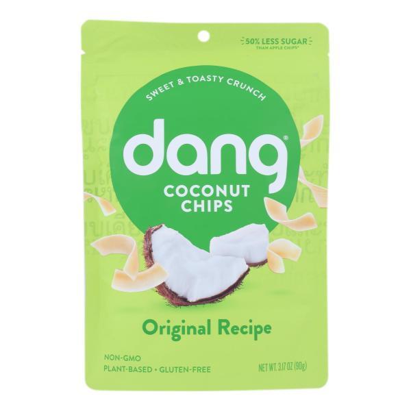 Dang - Toasted Coconut Chips - Original Recipe - Case of 12 - 3.17 oz. %count(alt)