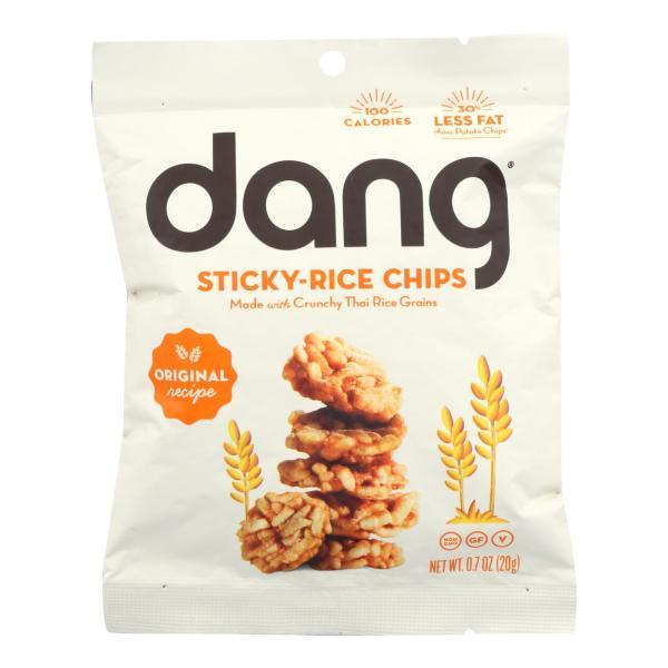 Dang - Sticky Rice Chips - Original Recipe - Case of 24 - .7 oz. %count(alt)