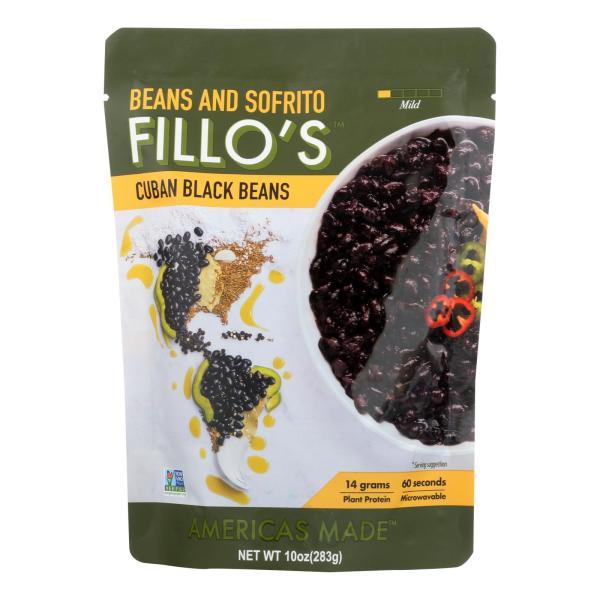 Fillo's Beans - Cuban Black Beans - Case of 6 - 10 oz. %count(alt)