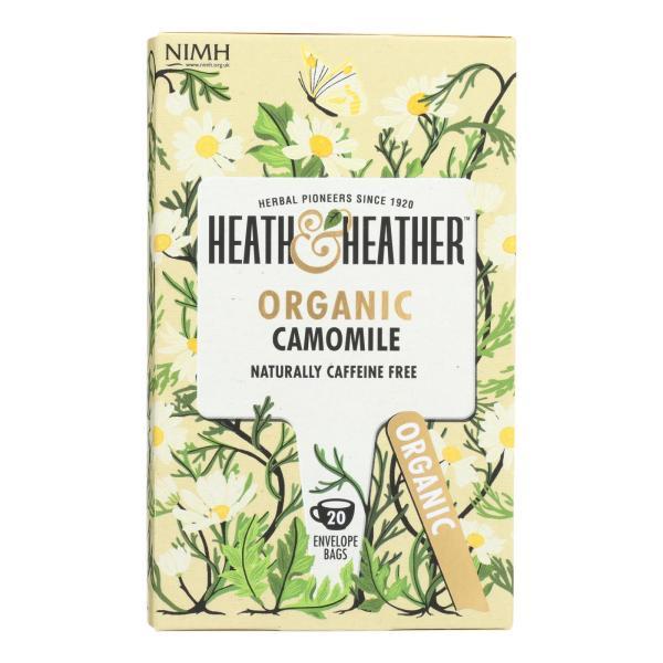 Heath & Heather - Tea Camomile Herbal - Case of 6 - 20 CT %count(alt)