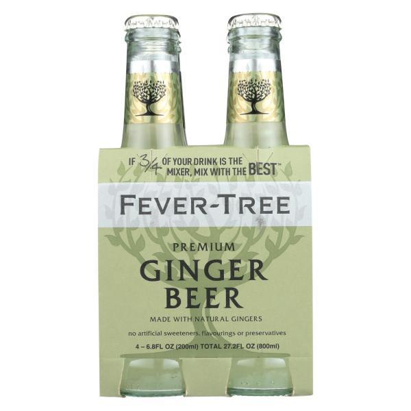 Fever - Tree Ginger Beer - Beer - Case of 6 - 6.8 FL oz. %count(alt)