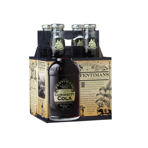 Fentimans North America Curiosity Cola - Cola - Case of 6 - 9.3 FL oz. %count(alt)