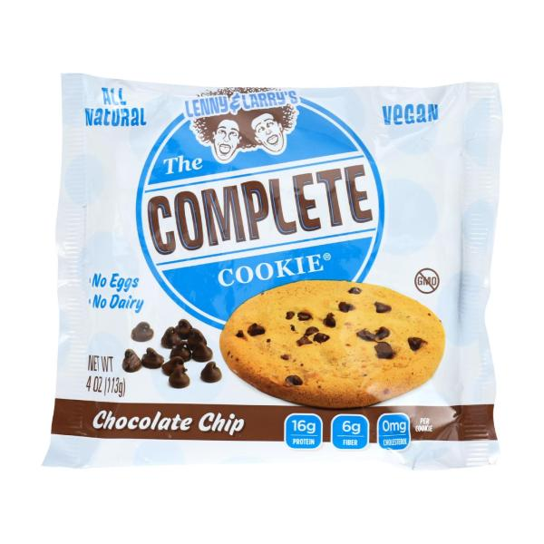 Lenny and Larry's The Complete Cookie - Chocolate Chip - 4 oz - Case of 12 %count(alt)