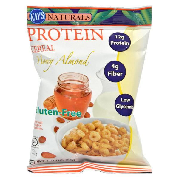 Kay's Naturals Protein Cereal Honey Almond - 1.2 oz - Case of 6 %count(alt)