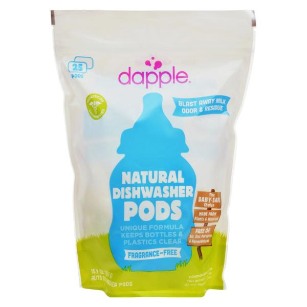 Dapple Dishwasher Pods - Automatic - Fragrance Free - 25 Count %count(alt)