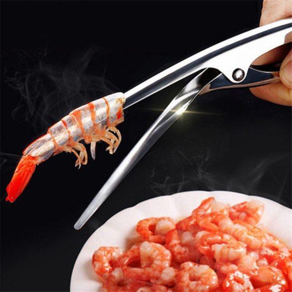1 Pc Stainless Steel Shrimp Peeler %count(alt)