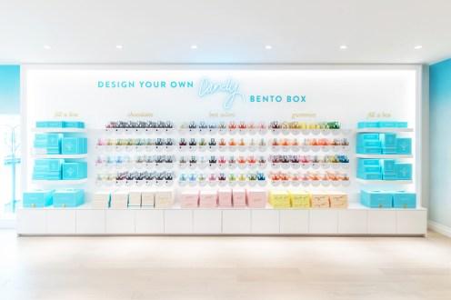 Sugarfina Hong Kong - Candy Wall