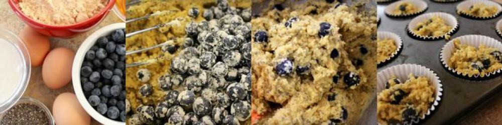 Blueberry muffin collage1000