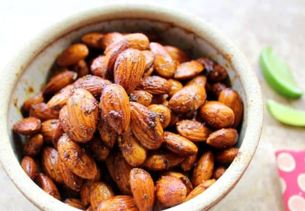 Caribbean Spiced Nuts. Spicy and healthy good. This recipe works for almonds, cashews or walnuts.