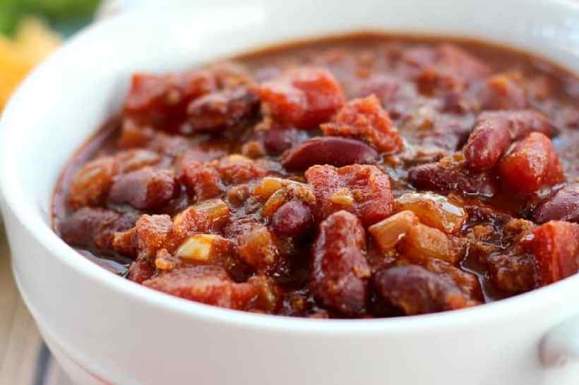 Turkey Chili In Slow Cooker4