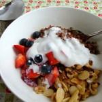 Warm and Nutty Quinoa Breakfast