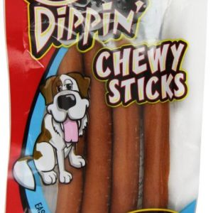 sergeants-chickn-dippin-brown-rice-chicken-chew-sticks front view